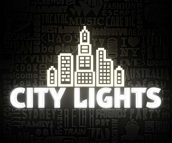 City Lights Concert Poster