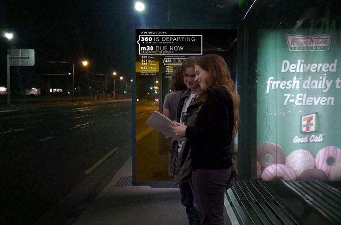 Virtually Connected Bus Stops Preview